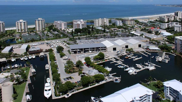 Fish-Tale Marina Aerial Photo