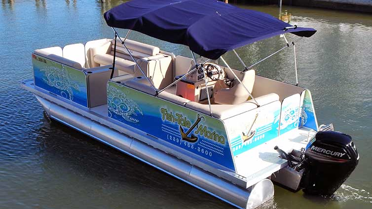 22 Ft. Pontoon Boat