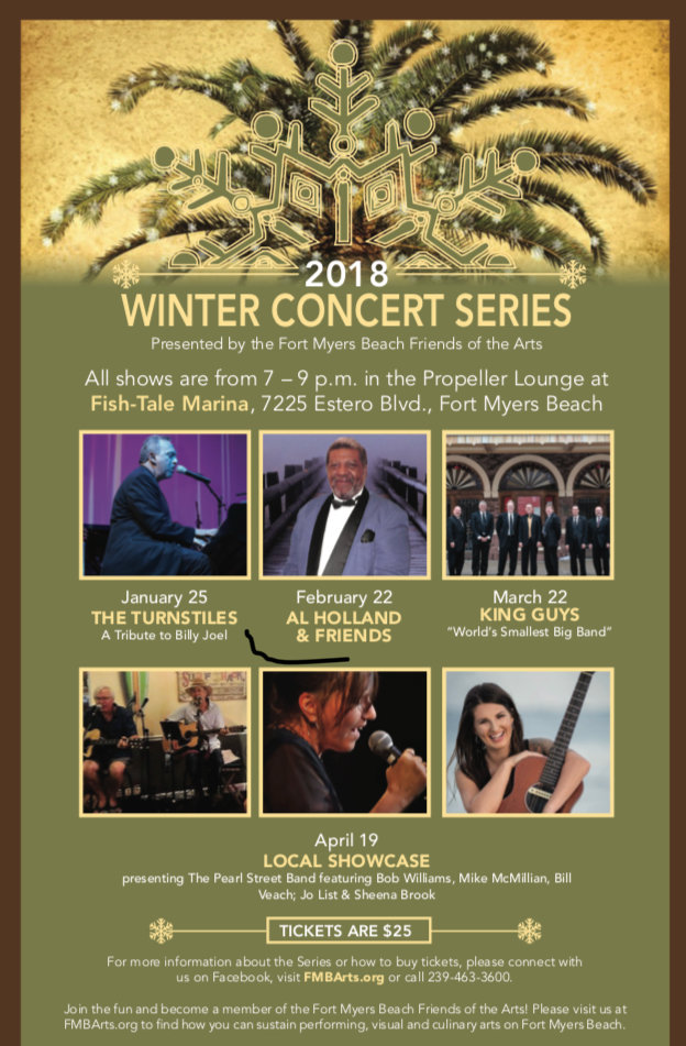 Friends of the Arts 2018 Winter Concert Series