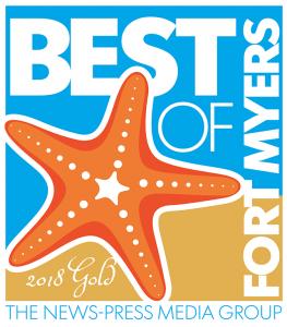 Best of Ft. Meyers Gold Winner award