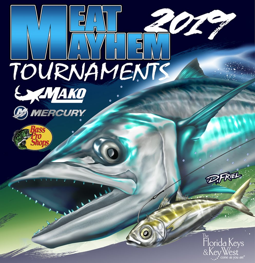 2019 Ft. Myers Kingfish Mayhem ProAm Fishing Tournament flyer image