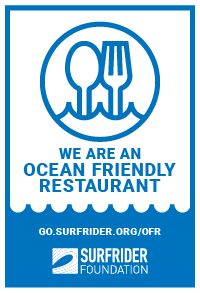 Ocean Friendly Restaurant badge