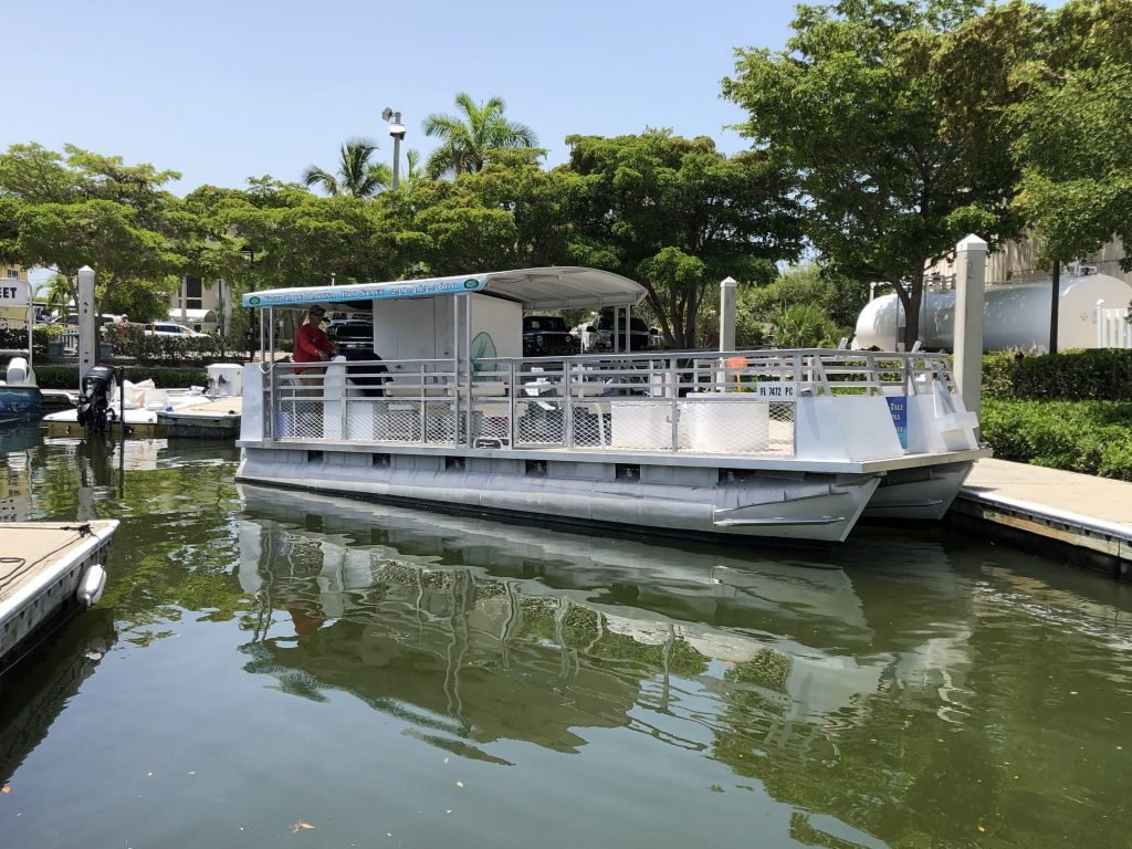 Pro Staff Fishing Boat